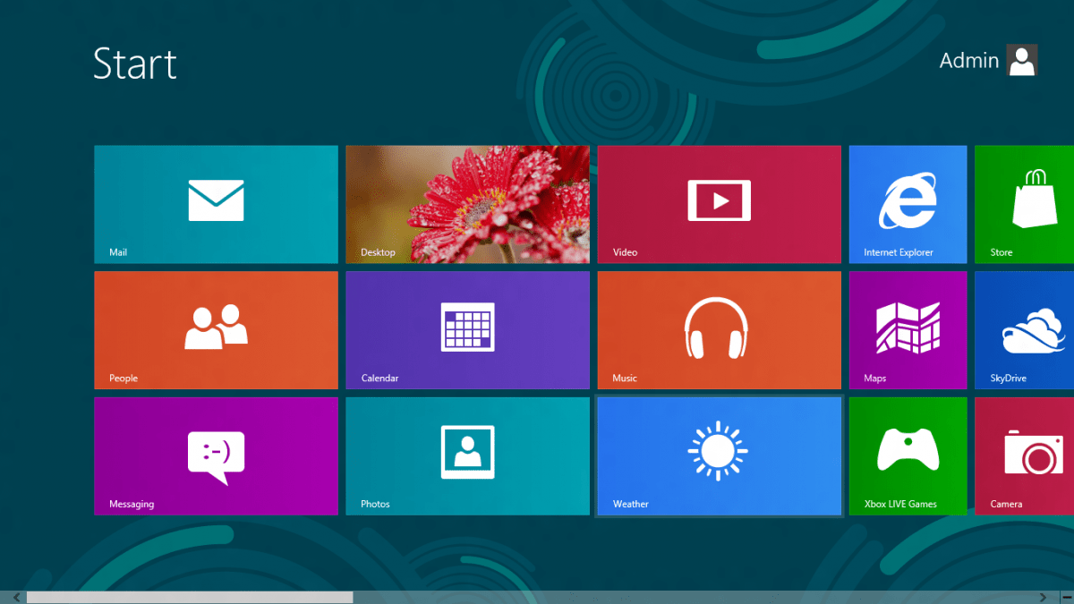 Windows 8 Metro Design