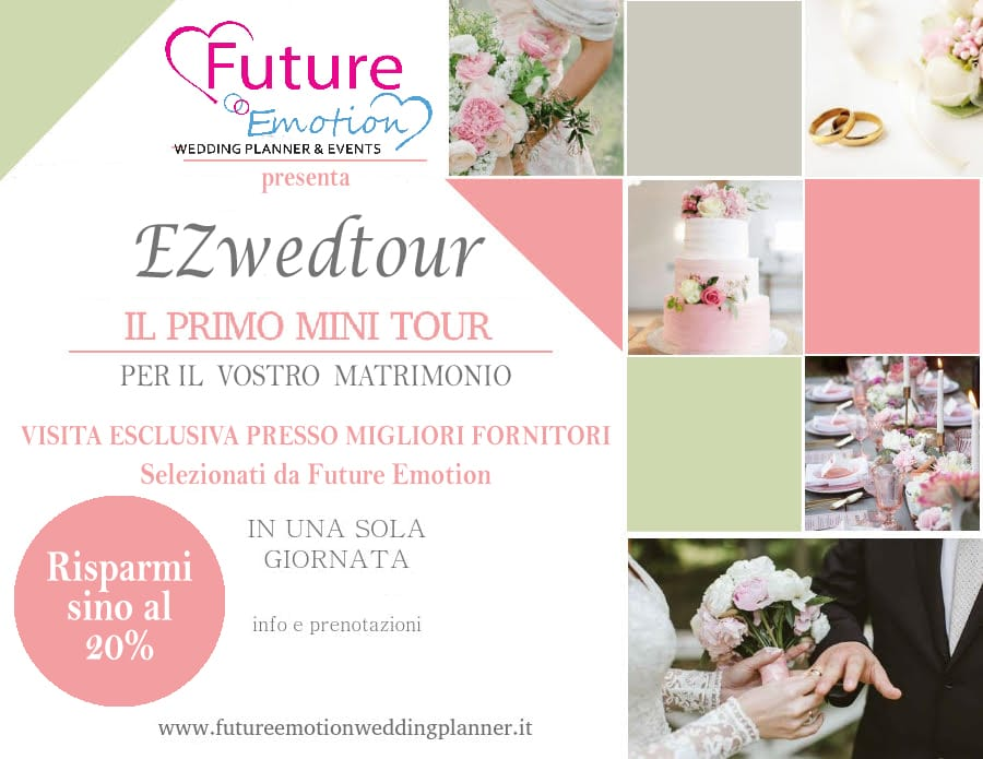 Wedding tour in Brianza