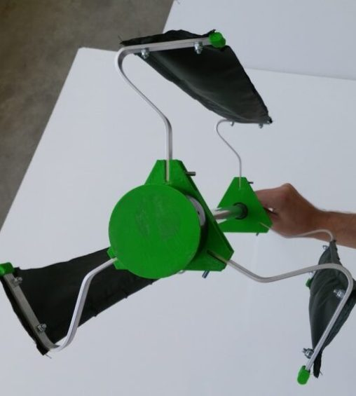 3D printed portable wind turbines from RMRDTECH to power the
