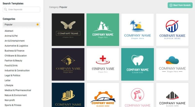 Create a Logo with DesignEvo for Free