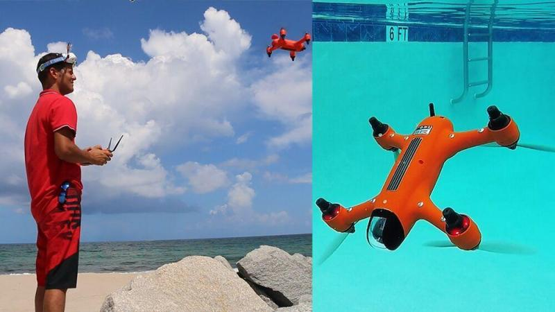 The Spry | The First Waterproof Drone that Submerges, Floats like a Boat
