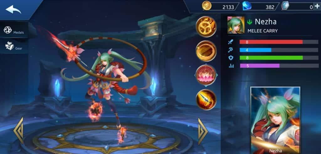 Nezha Build Guide In Heroes Evolved Mobile Game FGR