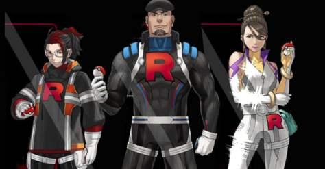 Resultado de imagen para team go rocket leaders