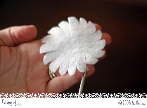 daisy 10 - Tutorial Margaridas em feltro