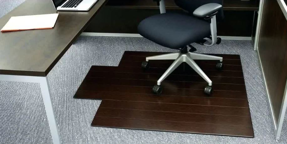 36 X 48 Office Marshal Polycarbonate Chair Mat For Low Pile Carpet Floors Clear Multiple Sizes Smooth Non Slip Carpet Floor Protection Mat Office Furniture Accessories Furniture Accessories