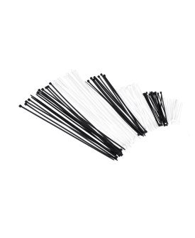 Black & Natural Nylon Cable Ties