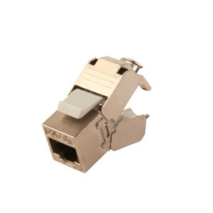 Cat 6a Jack, opened