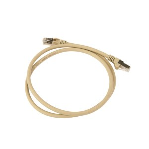 Cat 6a Patch Lead in Grey
