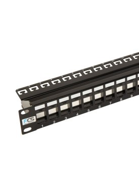 Unloaded Keystone Patch Panel