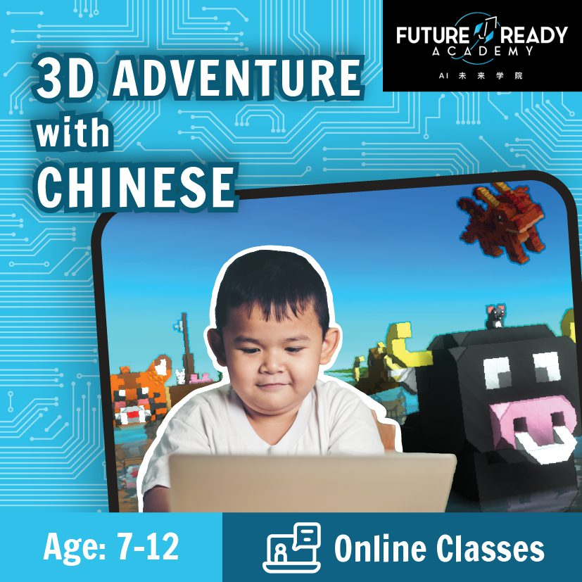 3D adventure with chinese