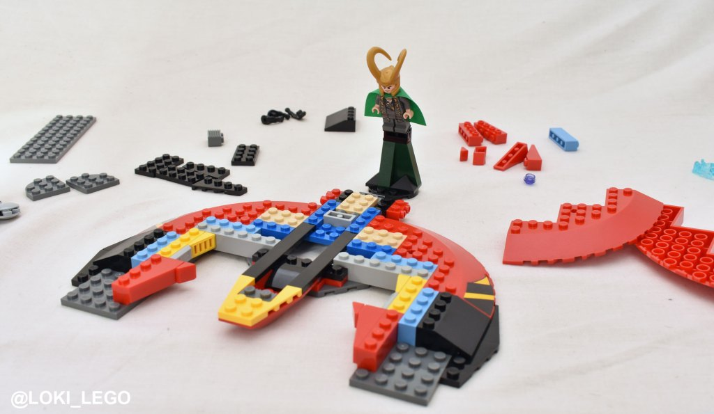 Ultimate Battle for Asgard LEGO set