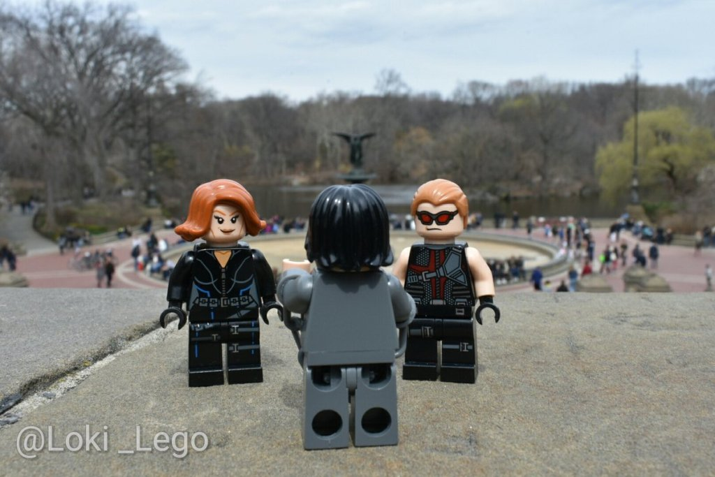 The Avengers Filming in Central Park