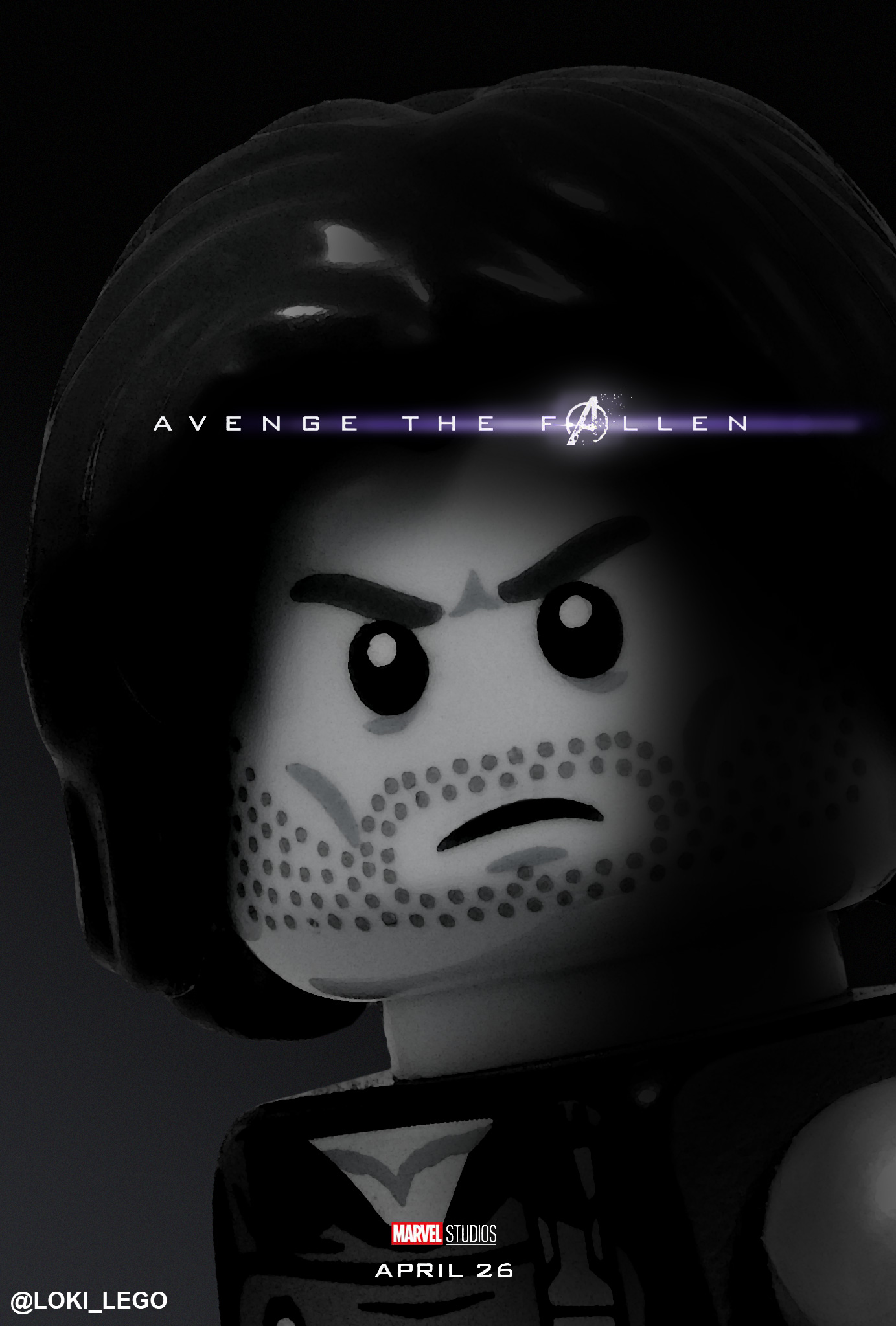 32 Avengers Endgame Character Posters Recreated In Lego Future