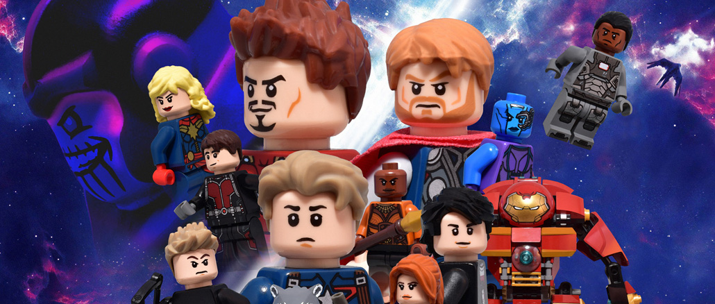 Avengers Endgame International Banner Recreated in LEGO