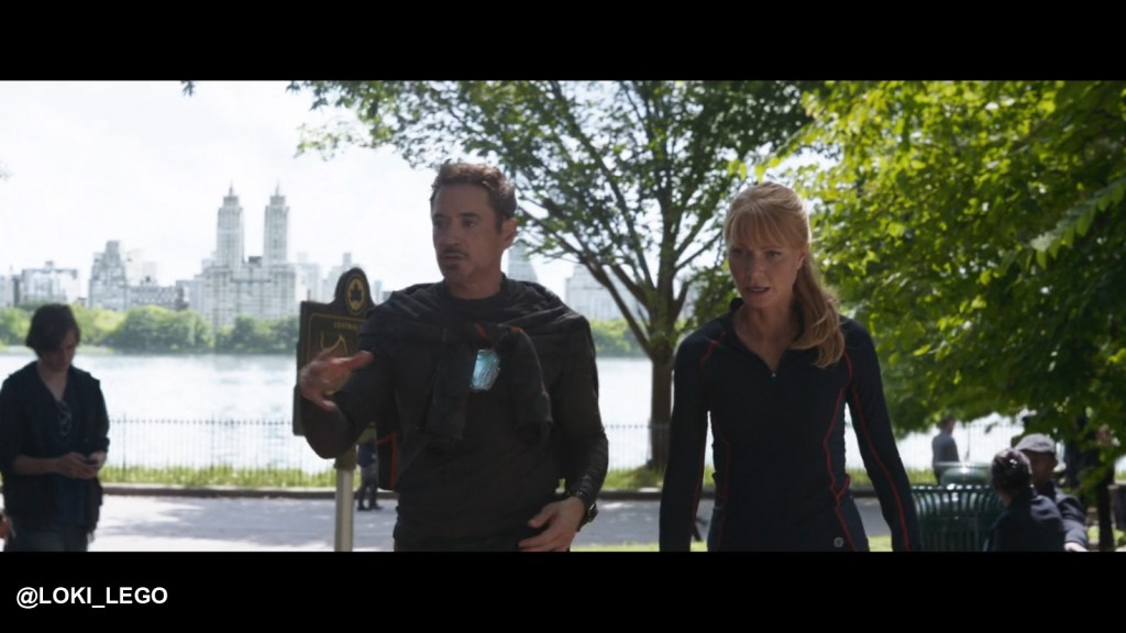 Central Park in Avengers Infinity War