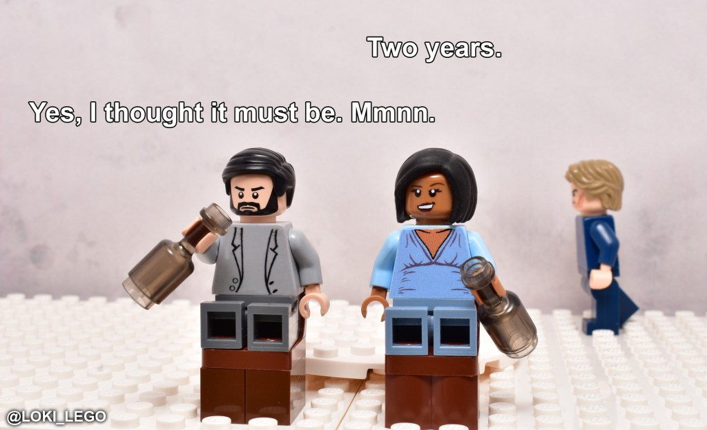 LEGO Betrayal Scene One
