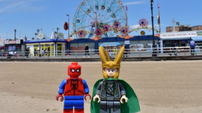 Spider-man homecoming at Coney Island