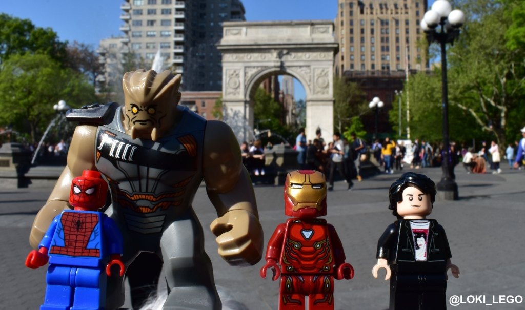 Washington Square Park in Avengers: Infinity War