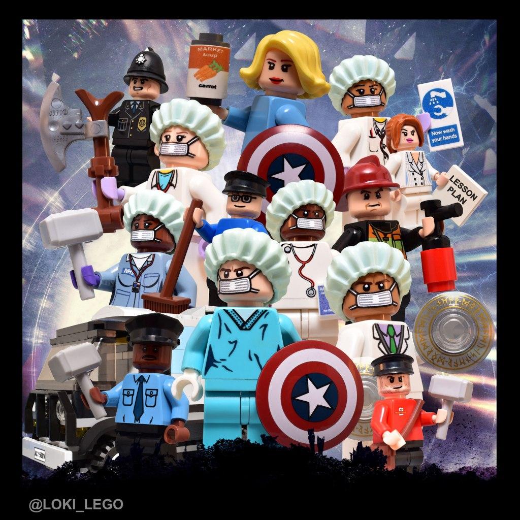 LEGO NHS Heroes