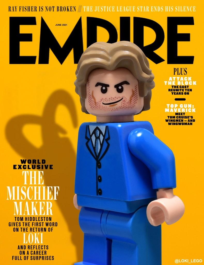 Empire Magazine loki cover