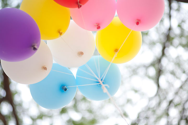 many colored balloons forming a bright background wallpaper imag