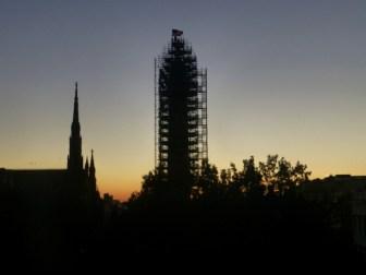 The Washington Monument at dawn, Baltimore