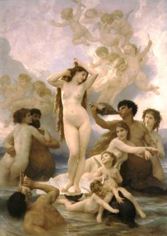 William-Adolphe Bougereau: The Birth of Venus, 1879