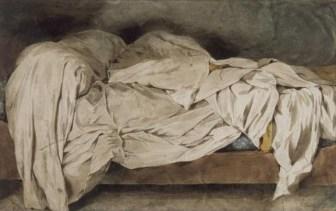 Eugène Delacroix: Un Lit Defait, 1828