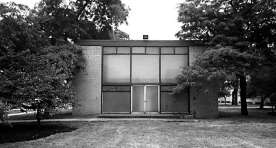 Church designed by Mies van der Rohe