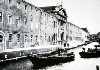 A scene from Venice, Italy
