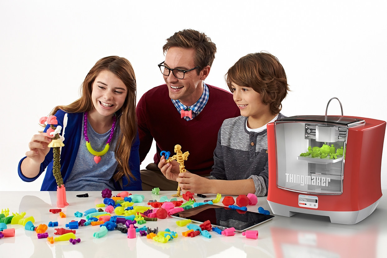 Mattel ThingMaker 3D Printer Gives Kids the Keys to the Toy Factory