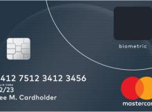 Mastercard Biometric Fingerprint Credit Card
