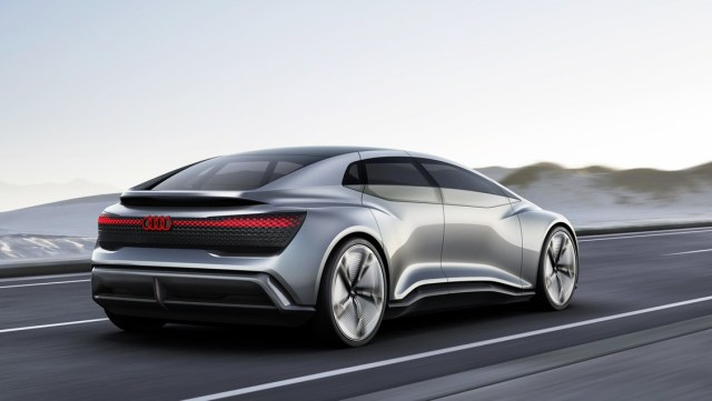 Audi Aicon Electrical Vehicle