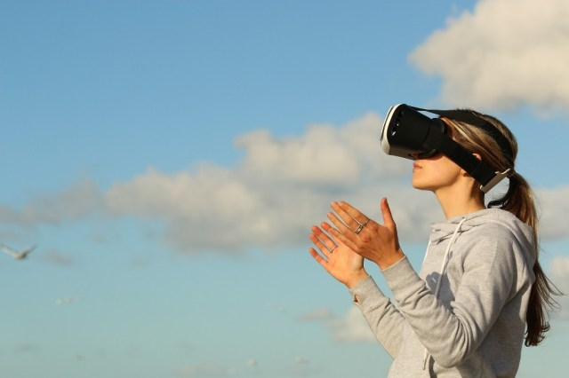 virtual reality nature clouds