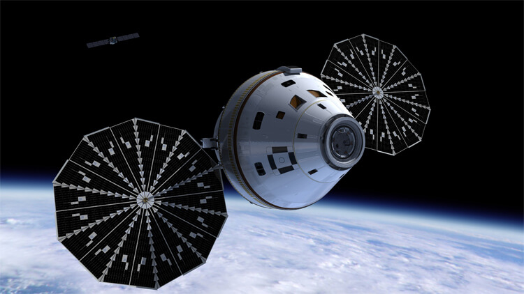 nasa orion 2014 spacecraft timeline