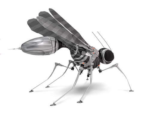 flying robot insect spy spies military future technology
