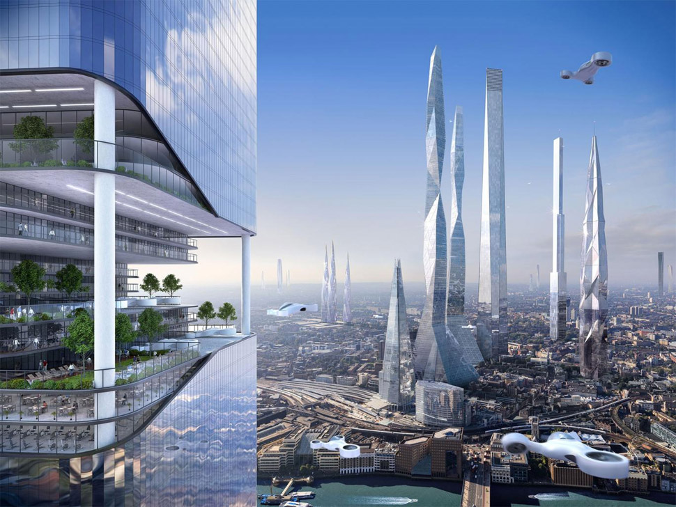 future london skyline 2100
