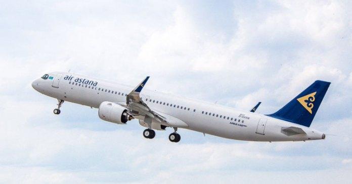Image result for a321 Air Astana