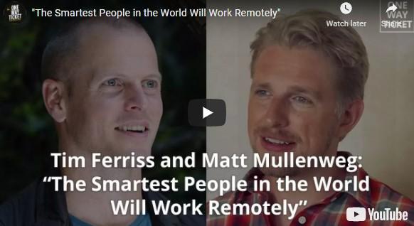 Smart people want work flexibility