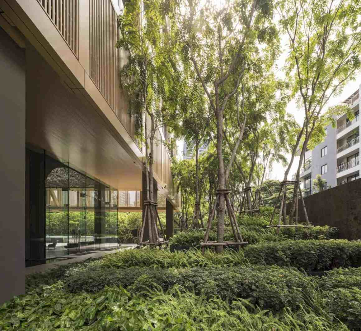 The Garden Of Sindhorn Residence A Greenery Space To Fend Off Bangkok Heat 1