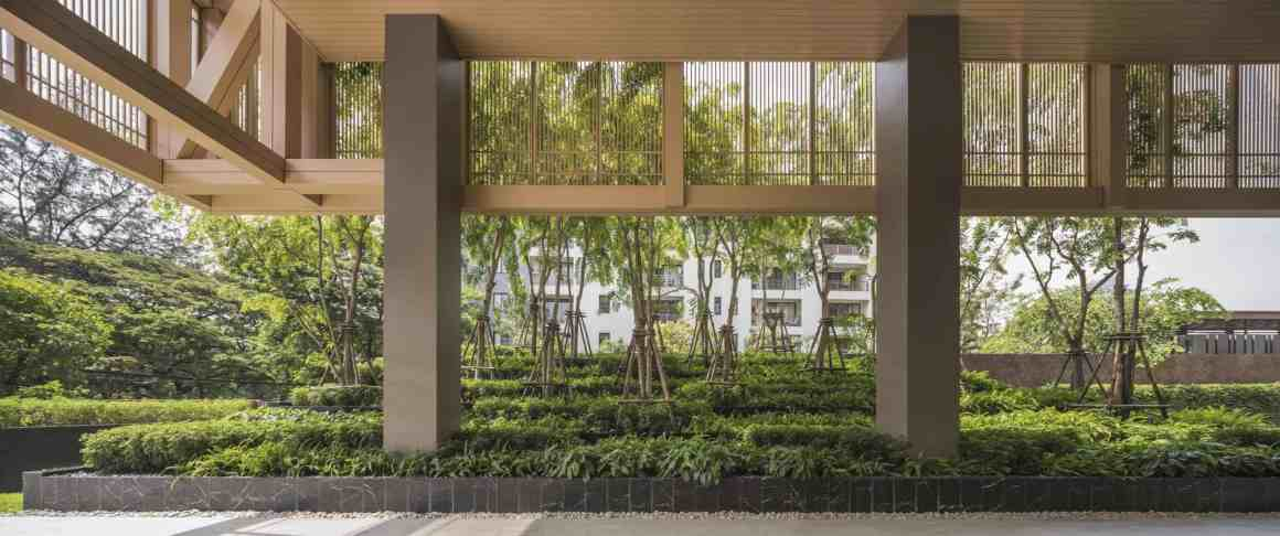 The Garden Of Sindhorn Residence A Greenery Space To Fend Off Bangkok Heat 2
