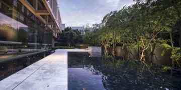 The Garden Of Sindhorn Residence A Greenery Space To Fend Off Bangkok Heat 4