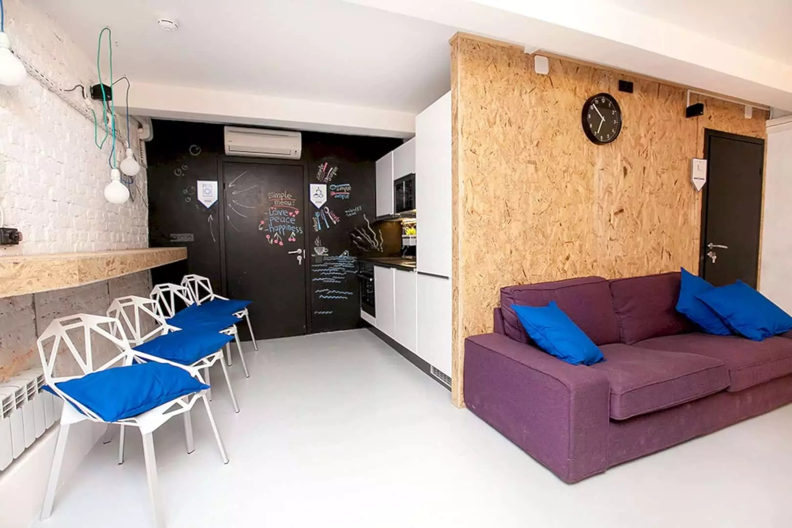SIMPLE Hostel: A Colorful Hostel with Simple Interior and Eco-Design Concept