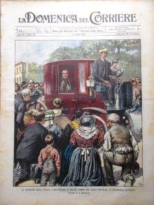 La copertina de La Domenica del Corriere del 19 luglio 1903.