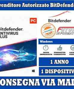 Bitdefender Anti-Virus 1 pc