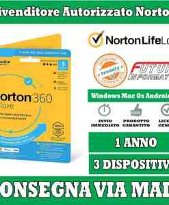 norton 360 Deluxe 3 Dispositivi