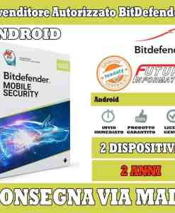 Bitdefender mobile security 2 android 2 anni