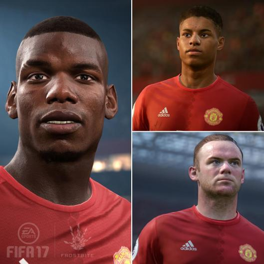 manchester united fifa 17