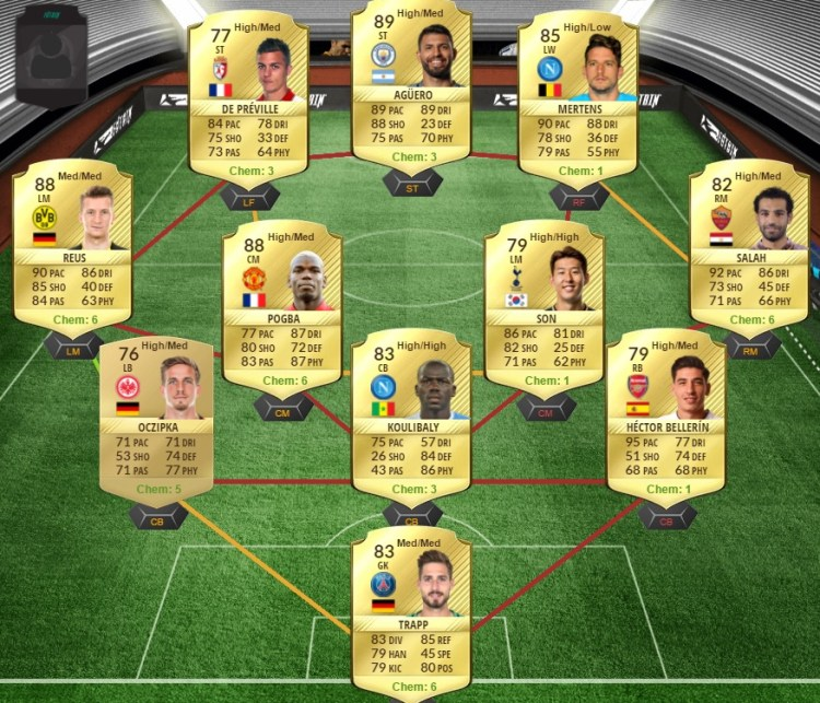 prediction totw 36 team