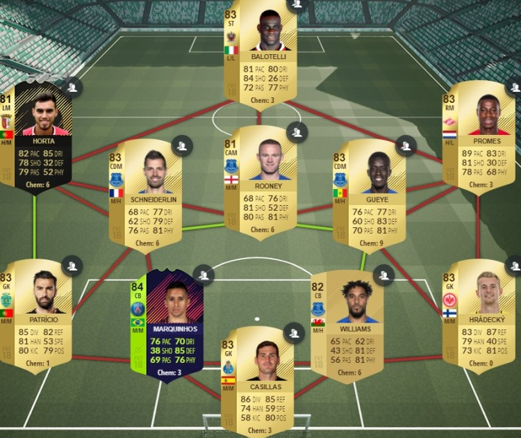 fut 18 path to glory automme echangeable